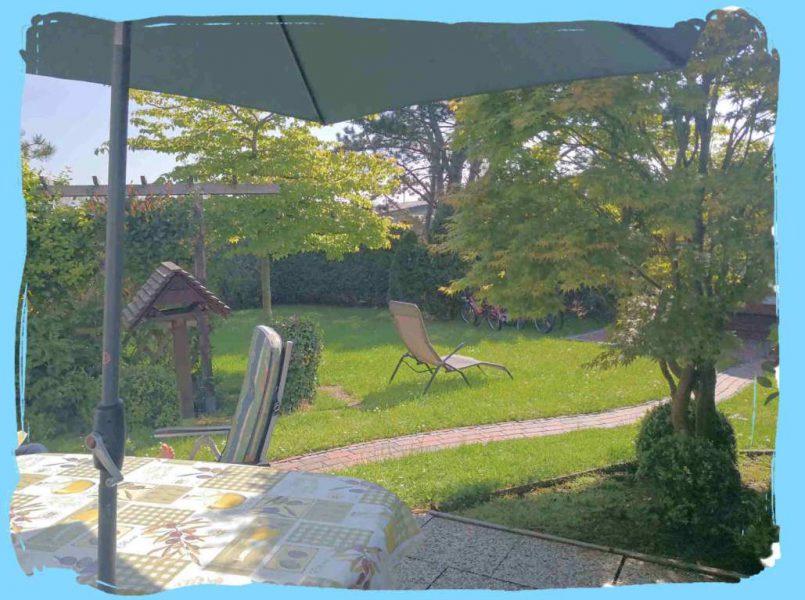 1Terrasse Blick Garten